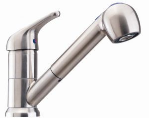 RVS Serie Standaard: Keuken mengkraan met uittrekbare uitloop
