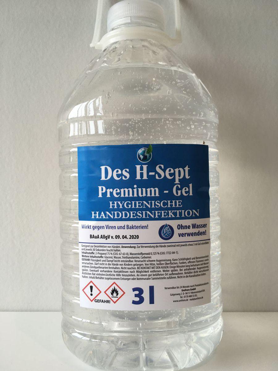 desinfectie hand gel