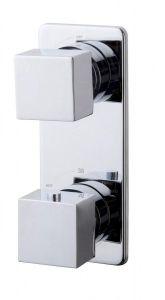 Inbouw thermostaat vierkant met omstel