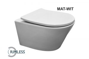 Mat wit toilet incl.bril