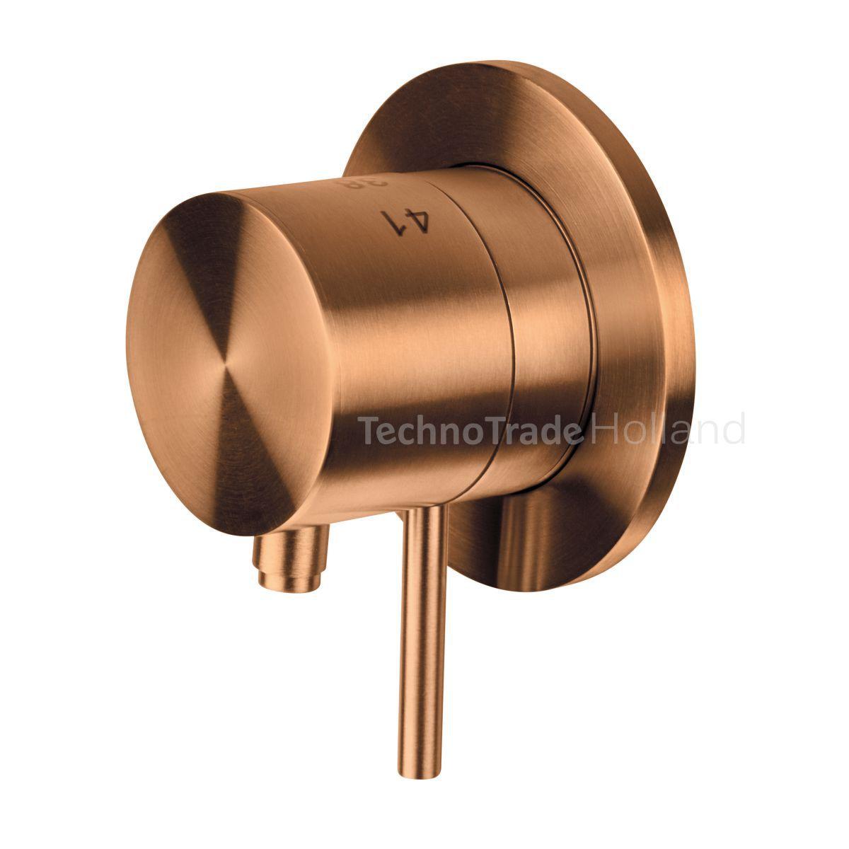 rvs inbouw thermostaat zonder omstelkoper