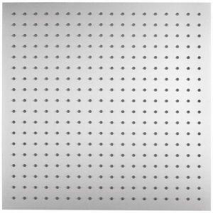 RVS regendouche vierkant 50x50