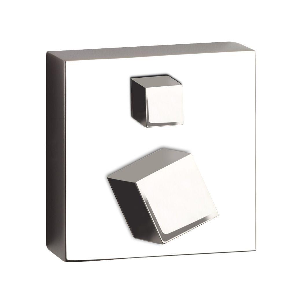 rvs serie kubus inbouw baddouche mengkraan met omstel