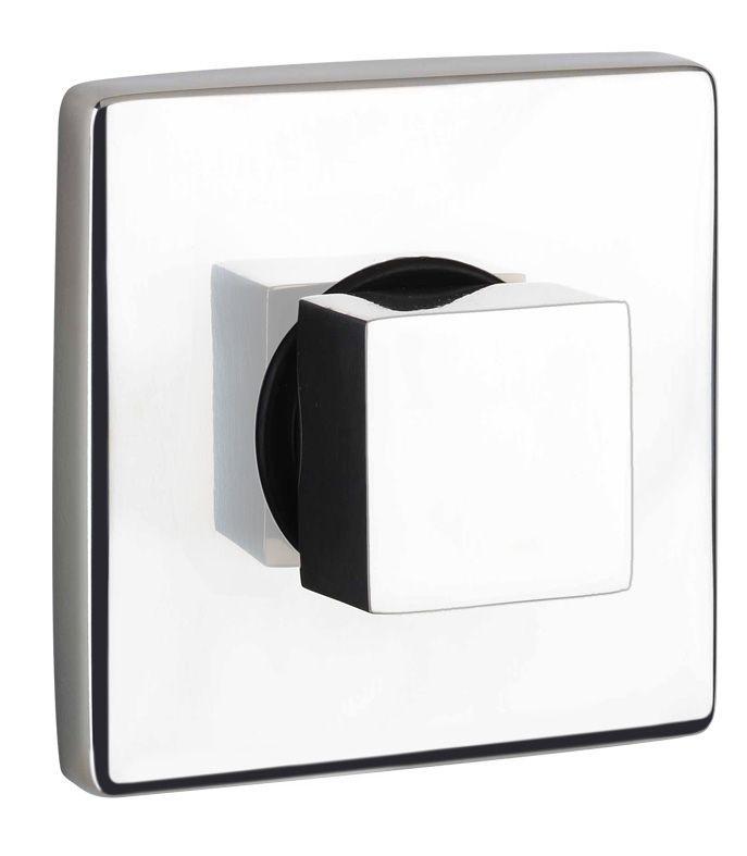 rvs serie kubus inbouw mengkraan voor douche of wastafel