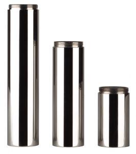 RVS Serie Minimaal: Verhogingsbuis (130mm)