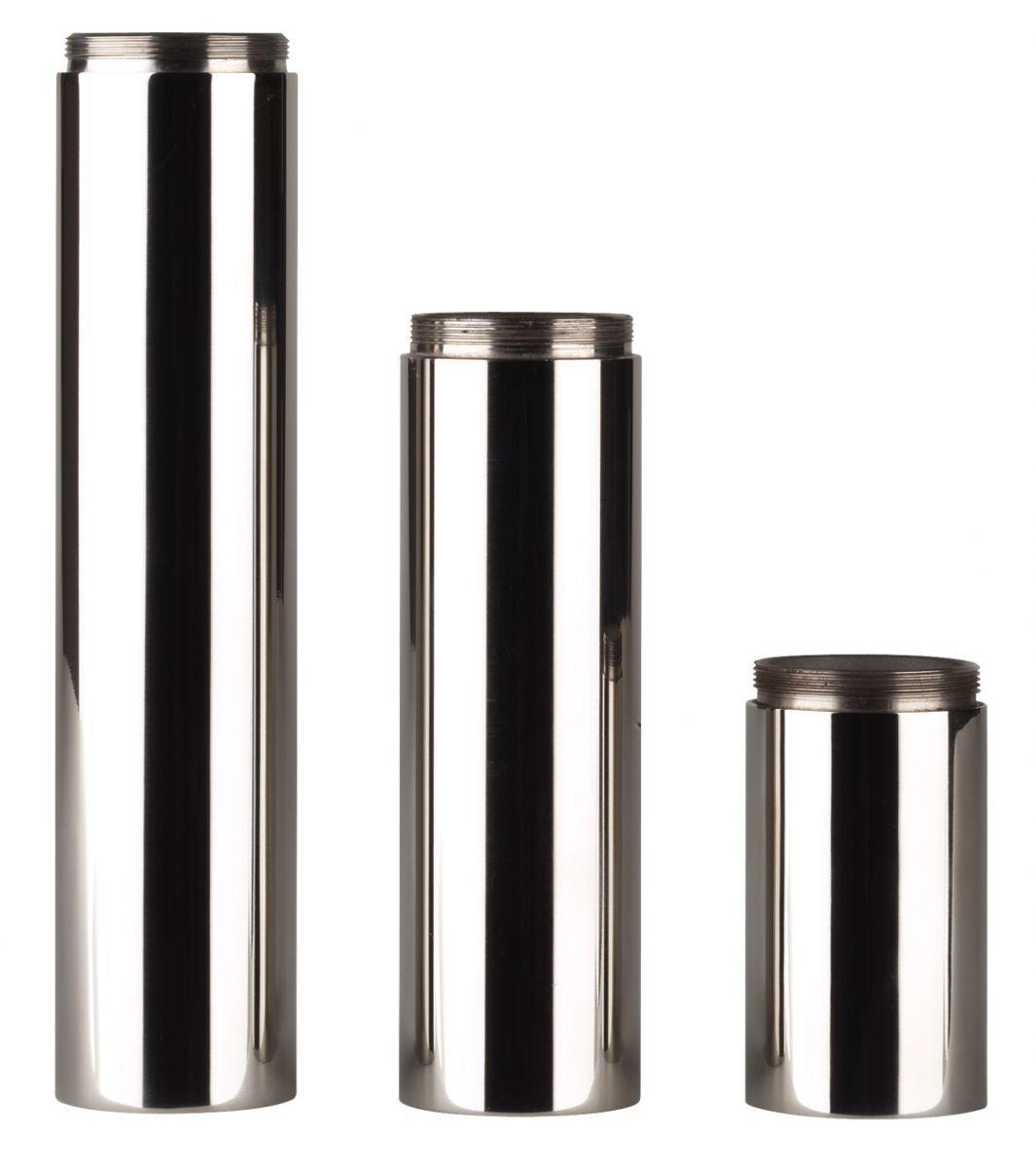 rvs serie minimaal verhogingsbuis 70mm
