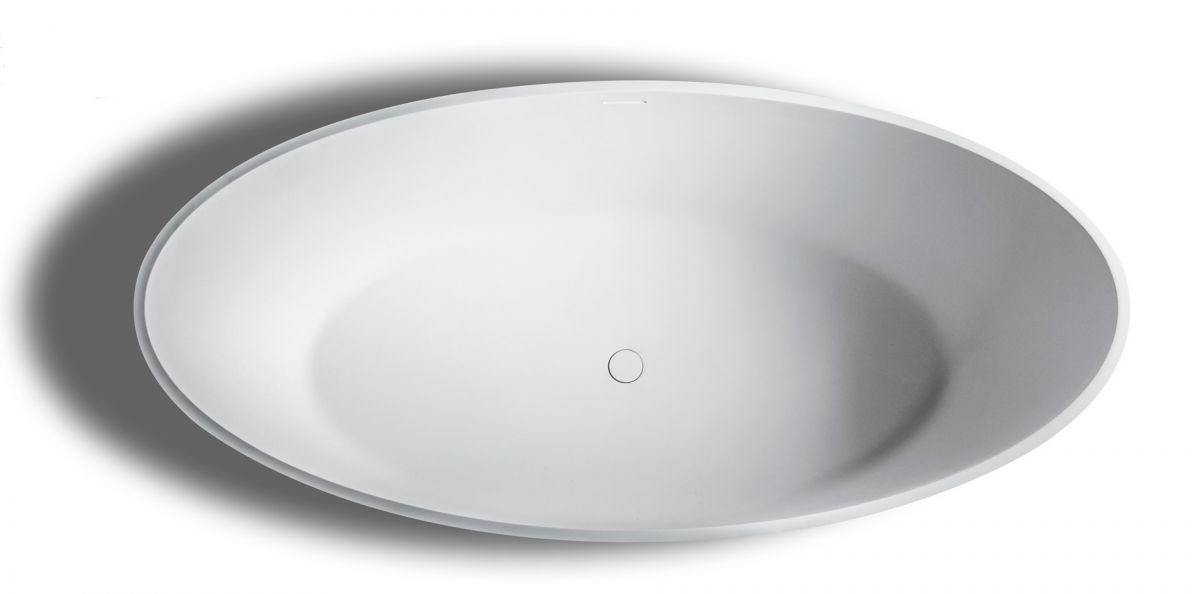 solid surface vrijstaand bad 180x 85