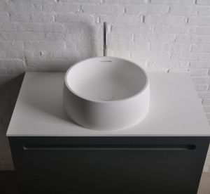 Solid surface waskom rond solidquod