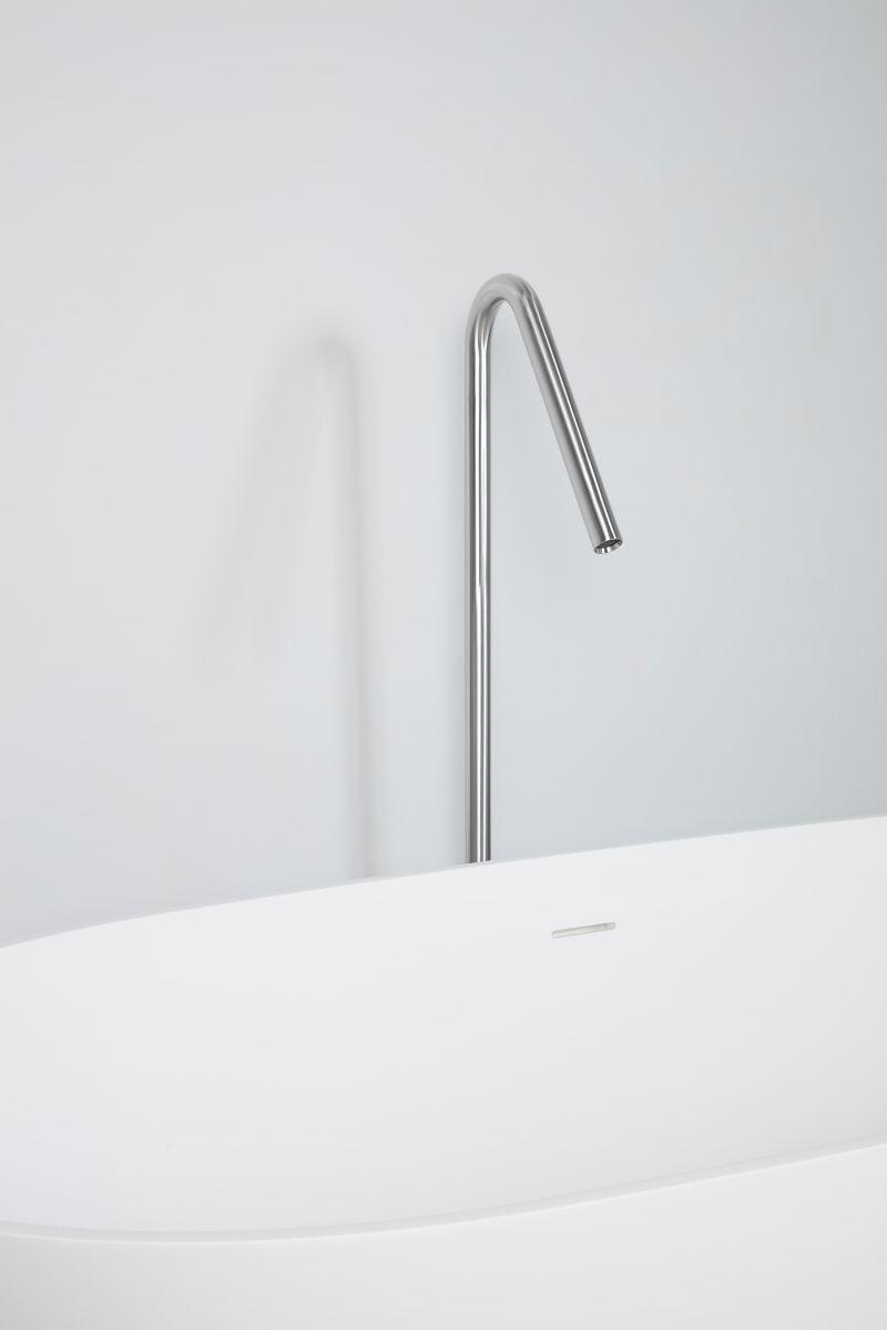 staande vloerbuis vul unit voor bad