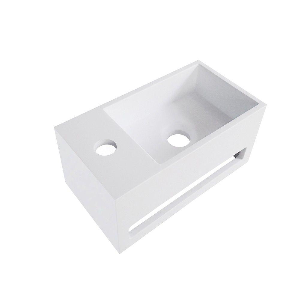 toiletfontein solid surface uitsparing