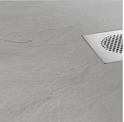 zachte warme douchevloer beton look